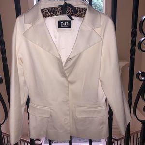 Dolce&Gabbana White Blazer